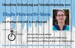Bild 0 für Sibylle Holzwarth-Weiss geht in Elternzeit!