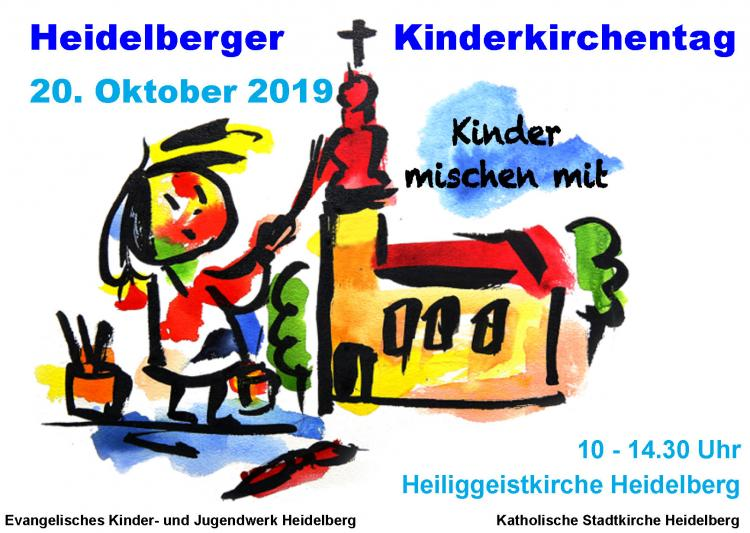 Heidelberger Kinderkirchentag 2019 - Flyer