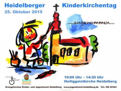 Flyer Kinderkirchentag 2015